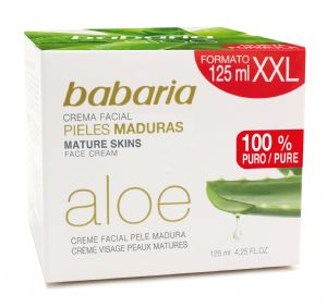 Babaria Naturals Aloe Vera Mature Skin Face Cream 125ml | Mia Beauty Ltd